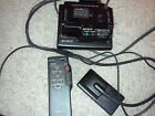 Sony AC-V25 Power Adapter & VMC-25S Connecting Adapter. Plus remote RMT-509