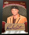 2009 PROMINENT CUTS RANDY COUTURE AUTO AUTOGRAPH CAGE FIGHTER NICE