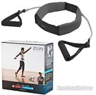 ZON WEIGHTED WALKING BELT WITH RESISTANCE TUBES DESIGNED FOR WALKING EXCERCISES