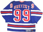 Wayne Gretzky Signed Authentic Cosby New York Rangers Vintage Jersey Auto COA