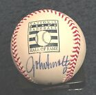 JOHN SMOLTZ SIGNED ROMLB HALL OF FAME BASEBALL AUTOGRAPH ATLANTA BRAVES