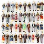 100 Model People Figures Passenegers Train Scenery 150 O Scale Mixed Color Pose