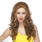 WIGS SIENNA LONG LACE FRONT CURLS NATURAL SEXY VOLUME BODY CUTE COLOR GS8642