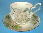 Royal Albert Fine China Flower of the Month Cup & Saucer HAWTHORNE No. 5 England