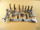 Pfaff 1222,1222E,1229 adjustable bias tape binder, Roller,scroll hemmer foot,