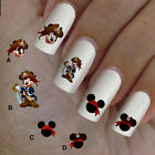 60 nail art decal,Mickey Mouse pirate,nail art design,nail stickers,disney style