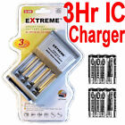 8 AAA Digimax Rechargeable battery +EXTREME 3Hr Smart/IC AA/AAA Charger^^^^^^^/%