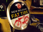 New Belgium Fat Tire LED Neon Beer Light Sign & Bud Budweiser Coors NFL Coasters