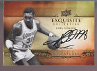 2013-14 Exquisite Collection Signatures Autograph On Card Auto Karl Malone 48 65