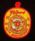 BOY SCOUT  PHILMONT 40TH ANNIV  PP   NM