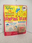 MEXICAN JUMPING BEAN 1950s Acme Toy Corp Chicago MOC unused cartoon Peppy