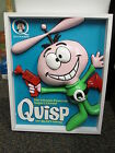 QUISP Quaker 1960s Quake style cereal box ray gun ORIGINAL ART 3-D relief 25