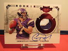 2011 Panini Plates and Patches #208 Christian Ponder JSY AU 299 RC SN 247 299