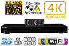 SONY 2K 4K BDP-S7200 3D Wi-Fi Multi Zone All Region Code Free DVD Blu Ray Player