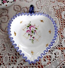FENTON ART GLASS HEART DISH 2009 CHARLETON DESIGN