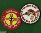 BOY SCOUT TWO PHILMONT PATCHES - FREE SHIPPING        XX