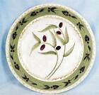 Oneida Oliveto Salad Plate 8.25 in Stoneware Dinnerware Olives on Green Band