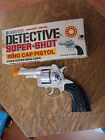 LONE STAR DETECTIVE SUPER-SHOT RING CAP PISTOL ENGLAND NEW OLD STOCK ORIG BOX