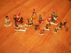 Vintage Christmas House of Lloyd LOT  FIGURES,winter,snowman,etc, with extras...