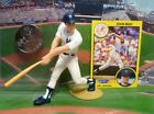 1991  KEVIN MAAS - Starting Lineup- SLU - Figure - Card & Coin - NEW YORK YANKS