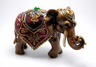 New Jay Strongwater Cleopatra Mother Elephant Figurine