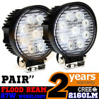 2 27W CREE LED WORK OFFROADS LAMP LIGHT FLOOD TRUCK BOAT 12V 24V 4WD 4x4 ROUND