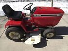 Cub Cadet 582 Tractor w Mower Deck Snow Plow and Tire Chains