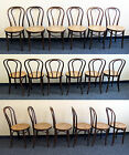 SIX cafe Bentwood European Beech Bistro Chairs rare MCM Mod ANTIQUE THONET 18
