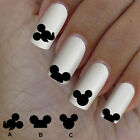 60 nail art decal,Mickey Mouse style,nail art design,nail stickers,disney style