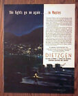 U.S. Submarine Station in Naples Italy WWII Ad