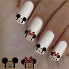 60 nail art decal,head Minnie Mickey,nail art design,nail stickers,disney style