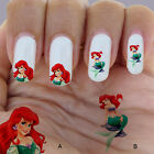 60 nail art decal,princess Ariel,nail art design,nail stickers,disney style