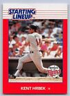 1988  KENT HRBEK - Kenner Starting Lineup Card - Minnesota Twins - Vintage