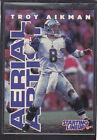1996  TROY AIKMAN - Starting Lineup Card - Dallas Cowboys
