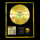 NIRVANA INCESTISIDE CD GOLD DISC RECORD LP  FREE P&P!