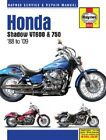 HAYNES SERVICE MANUAL HONDA SHADOW VT600C 1988-89 & 1991-07, VT600CD VTX 1993-07