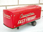 Vintage Japan Tin Litho Cragstan Fast Freight Semi Truck Trailer