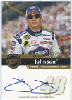 JIMMIE JOHNSON 2006 PRESS PASS SIGNINGS AUTO ON CARD AUTOGRAPH