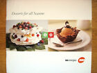 2002 DESSERTS FOR ALL SEASONS~WE ENERGIES~Wisconsin Electric Co Cookbook