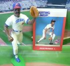 1988  JULIO FRANCO - Starting Lineup - SLU - Loose With Card - CLEVELAND INDIANS