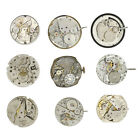 Total 9 of Steampunk Old Vintage Watch Parts Lot# 82-0530