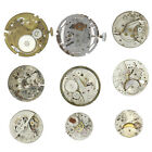 Total 9 of Steampunk Old Vintage Watch Parts Lot# 84-0532