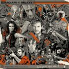 Guardians Of Galaxy Awesome Mix V1 Mondo purple marble 180gm LP vinyl + handbill