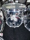 Crush Drums CLEAR Acrylic 18