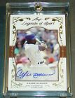 2011 LEAF LEGENDS OF SPORT ANDRE DAWSON HOF BA-5 AUTO 4 5