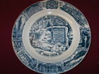 OLEAN, NY COLLECTOR PLATE FRO THE SESQUI-CENTENNIAL OF 1954