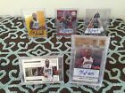 Panini Kemba Walker 4 Card Lot National Treasures Bgs10 10Auto Tag