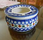 Polish Pottery Boleslawiec w Cobalt Blue Design Made in Poland Teapot Warmer