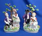 PAIR DRESDEN SITZENDORF CHILDREN FIGURINES