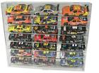 21 Car Slant Display Case 1 24 Scale Diecast NASCAR Model Cars Free Shipping